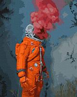 "Картина по номерам BrushMe без коробки ""Космический герой"""
