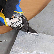 Ножиці по металу S&R Smart 180 мм правий рез, фото 3