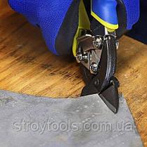 Ножиці по металу S&R Smart 180 мм правий рез, фото 2