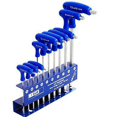 Набір шестигранних ключів S&R HX 10 шт.