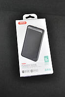 Павербанк Power Bank 10000mAh XO PR70D (2USB) Black