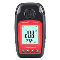 Датчик концентрации кислорода O2 + термометр (0-25% VOL, 0-50°C) WINTACT WT8821, фото 1