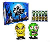 "Заводна Іграшка стрибаюча Монстр Happy Halloween, 5,5 див./1/10шт ТМ"""" GroovyHH"