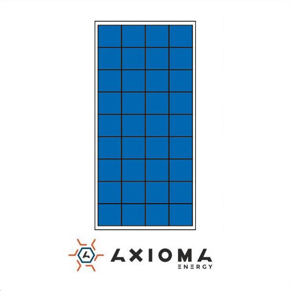 Солнечная батарея (панель) 160Вт, поликристаллическая AX-160P, AXIOMA energy