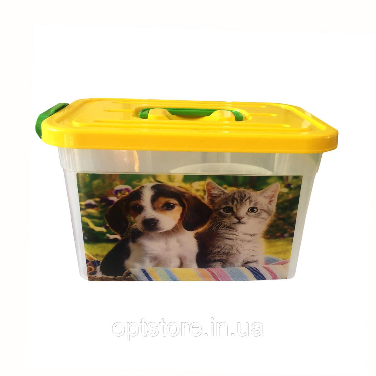 Контейнер для хранения корма животных