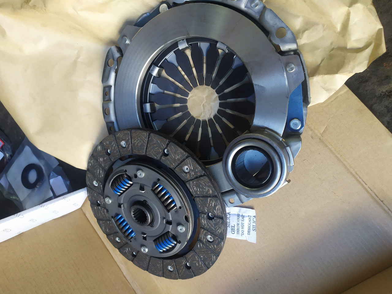 Замена сцепления Renault Megane ремонт КПП