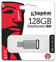 Флеш память USB 128GB Kingston DataTraver 50 USB 3,0 (DT50/128GB)