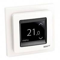 Терморегулятор DEVI Devireg Touch с датчиком пола и воздуха, белый