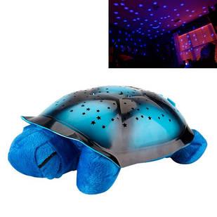 Светильник ночник проектор звездного неба, музыкальная черепаха