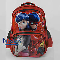 Школьный рюкзак для девочки. Ранец портфель в школу для первоклассницы Красный (86658)