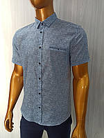Мужская рубашка Amato. AG.19397-2(g). Размеры:M,L,XL(2), 2XL., фото 1