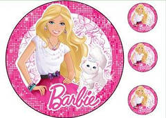 """Вафельна картинка  """"Барбі"""""""