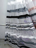 Тюль на фатиновой основе