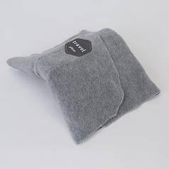 Подушка шарф для путешествий Travel Pillow 18х18 см Gray