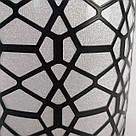 Люстра потолочная на 1 лампу в узор с блестками черная 29-T0002 BK, фото 3