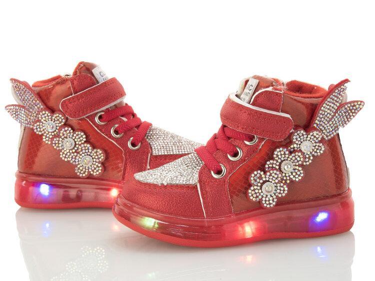 Детские ботинки оптом, 21-26 размер, 8 пар, ВВТ