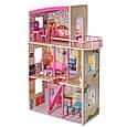 *Деревянный домик с мебелью для кукол (аналог KidKraft) арт. 2411, фото 4
