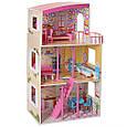 *Деревянный домик с мебелью для кукол (аналог KidKraft) арт. 2411, фото 5