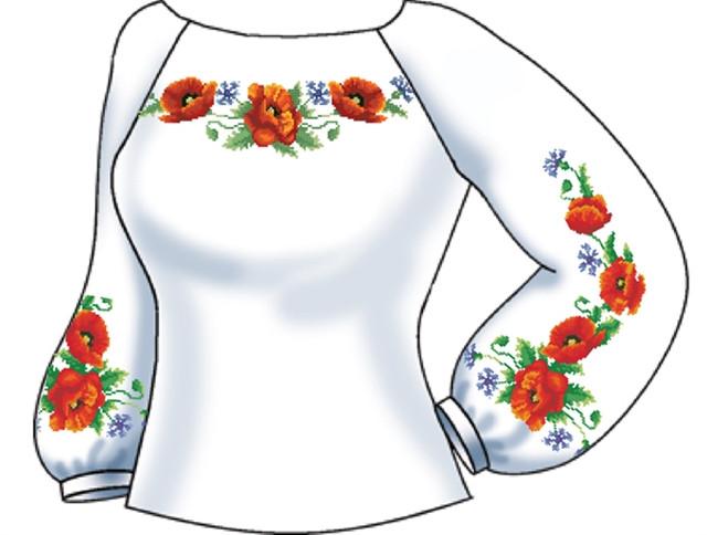 СВЖБ-31. Заготовка Жіноча сорочка лляна біла 68cdfc657e16a