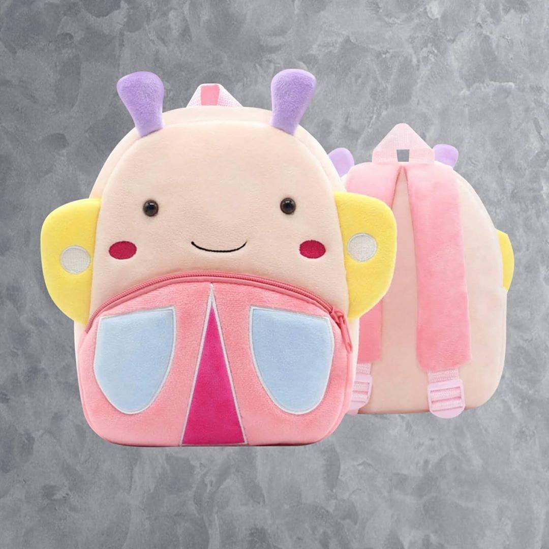 Рюкзак велюровый Бабочка