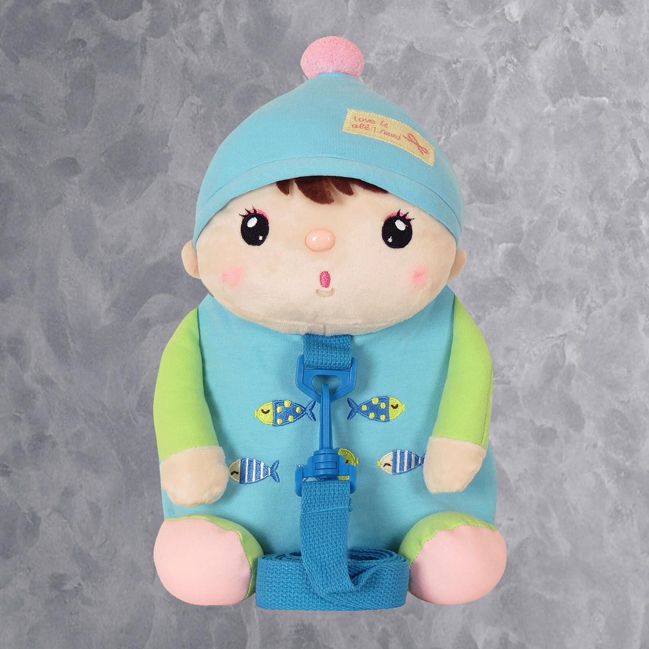 Рюкзак Кукла, голубой