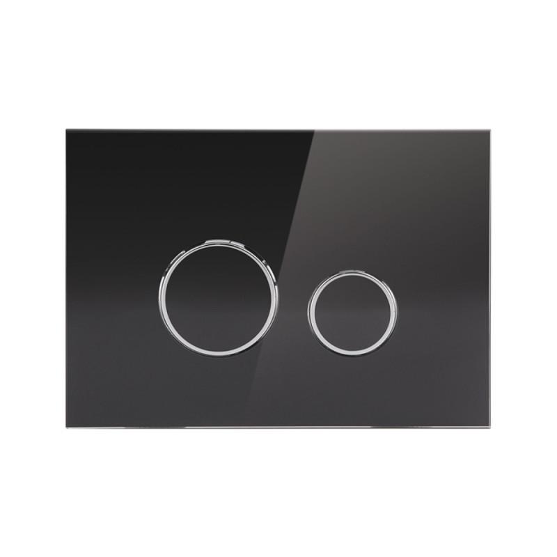 Панель смыва для унитаза Q-tap Nest PL M11GLBLA