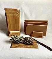 Набор деревянных разделочных досточек для кухни из бука