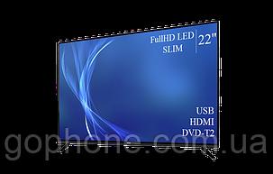 "Телевизор Bravis 22"" FullHD/DVB-T2/USB (1080р), фото 2"