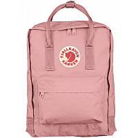 Рюкзак розовый-пудровый женский мужской городской модный 16 литров Fjallraven Kanken Classic Канкен Классик