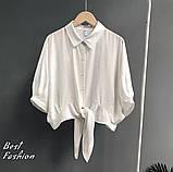 Рубашка женская белая, бежевая, 42-46, 48-52, фото 3