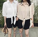 Рубашка женская белая, бежевая, 42-46, 48-52, фото 4