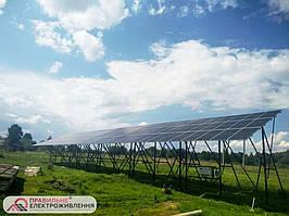 Мережева СЕС 30 кВт у м. Долина 2