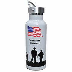 Термос Han-Wild Outdoor American flag дорожній для води об'єм 600 мл нержавіюча сталь термобутылка