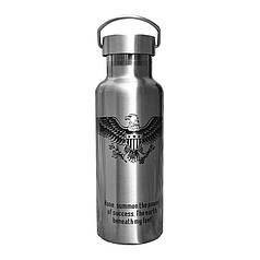 Термос Han-Wild Outdoor Black Eagle дорожній для води об'єм 600 мл нержавіюча сталь термобутылка