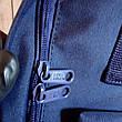 Рюкзак Fjallraven Kanken Klassic 16л синий dark-blue / Школьный портфель Канкен Классик 16л (Полиэстер), фото 3