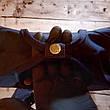 Рюкзак Fjallraven Kanken Klassic 16л синий dark-blue / Школьный портфель Канкен Классик 16л (Полиэстер), фото 4