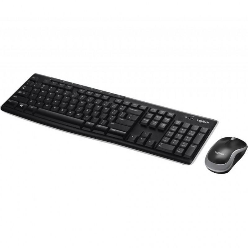 Набор клавиатура + мышь Logitech MK270 Wireless Keyboard Mouse Combo (K270 + M185) Витрина