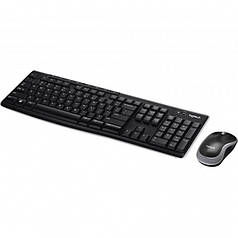 Набор клавиатура + мышь Logitech MK270 Wireless Keyboard Mouse Combo (K270 + M185)