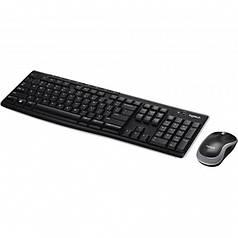Набор клавиатура + мышь Logitech MK270 Wireless Keyboard Mouse Combo (K270 + M185) Уценка