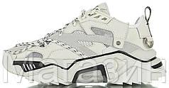 Женские кроссовки Strike 205 White Кельвин Кляйн (Келвин Клайн) Страйк белые