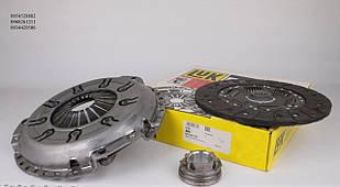 Комплект сцепления (с пружинками, для гладкого маховика) VW LT 2.5TDI 1996-2001  LUK  (Германия)624 301100