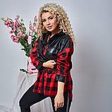 Женская Рубашка+сумка Батал, фото 3