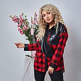 Женская Рубашка+сумка Батал, фото 2