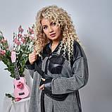 Женская Рубашка+сумка Батал, фото 4