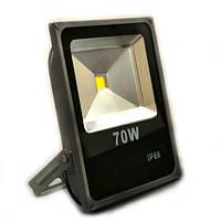 Светодиодный прожектор LED 70Вт 5950Лм, IP66, фото 1