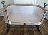 Приставная детская кроватка трансформер CARRELLO Festa CRL-8401 бежевый цвет . Дитяче ліжечко для немовлят, фото 7