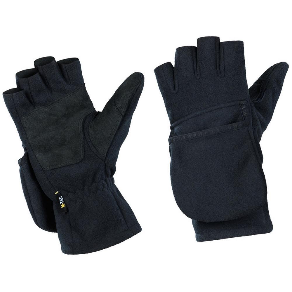 M-Tac перчатки беспалые с клапаном Windblock 295 Dark Navy Blue
