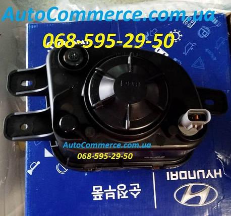 Фара противотуманная левая Hyundai HD65, HD72, HD78 Хюндай HD (922015H000), фото 2