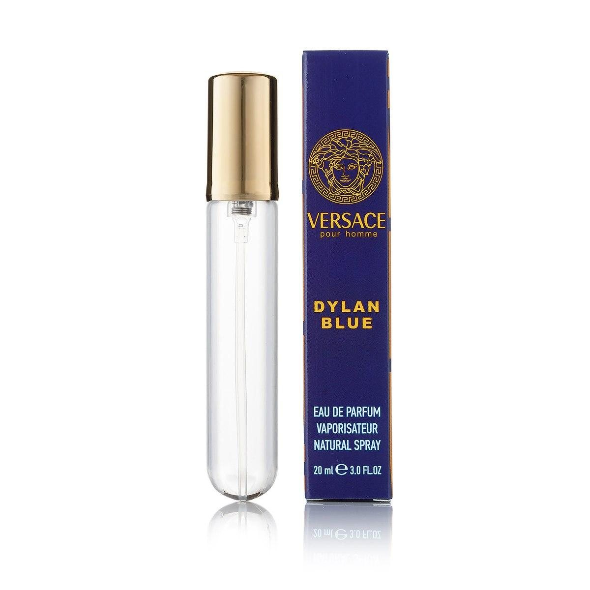 20 мл мини парфюм  Versace Pour Homme Dylan Blue (М)