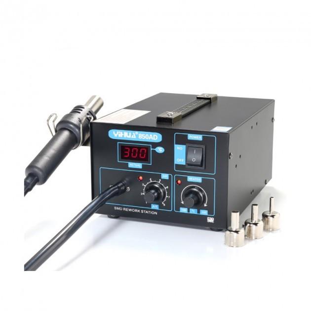 Паяльная станция YIHUA 850AD компрессорная 550 Вт